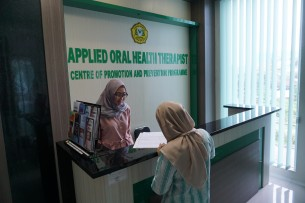 Receptionist Room of Oral Health Promotion and Prevention